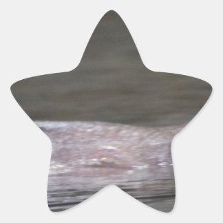 Hipopótamo hambriento calcomanía cuadrada personalizada