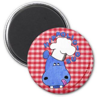 Hipopótamo Hippolicious del cocinero Iman