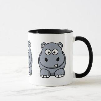 Hipopótamo lindo