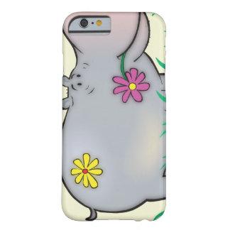 hipopótamo lindo del hippie funda para iPhone 6 barely there