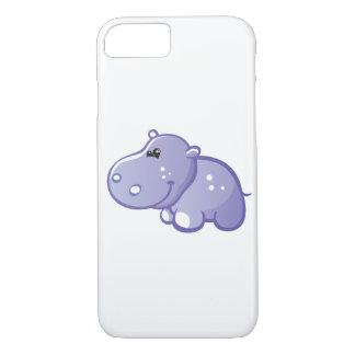 Hipopótamo lindo funda iPhone 7