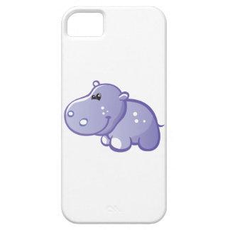 Hipopótamo lindo funda para iPhone SE/5/5s