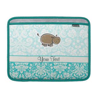 Hipopótamo lindo; Trullo Funda MacBook