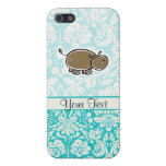 Hipopótamo lindo; Trullo iPhone 5 Protector