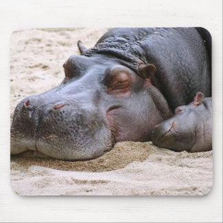 Hipopótamo Mousepad