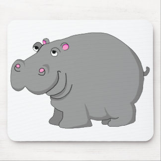 hipopótamo mousepads