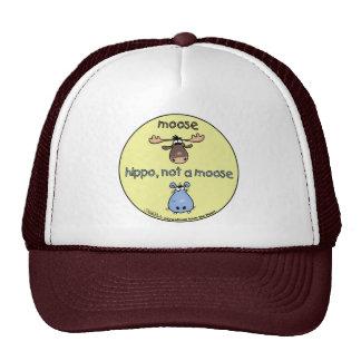 ¡Hipopótamo-no-uno-alces! Gorros