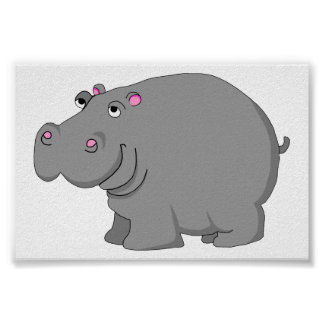 hipopótamo póster