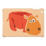 Hipopótamo primitivo divertido del arte iPad mini fundas