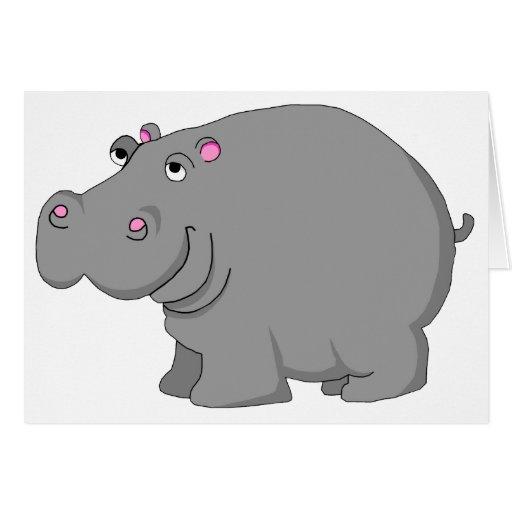 hipopótamo tarjetón