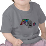 Hipopótamo varado camiseta
