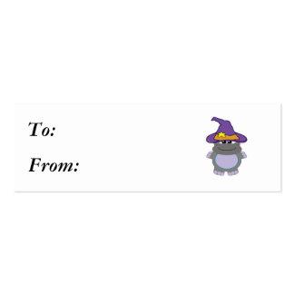 hipopótamo witchy de los goofkins tarjetas de visita mini