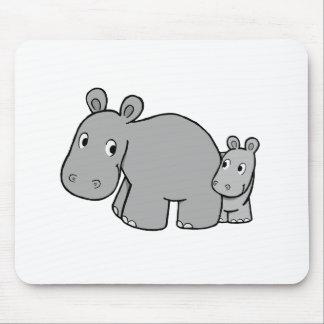 Hipopótamos Tapetes De Raton