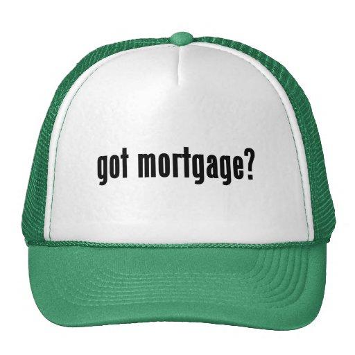 ¿hipoteca conseguida? gorro de camionero