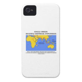 Hipótesis múltiple de la dispersión del solo iPhone 4 Case-Mate protectores