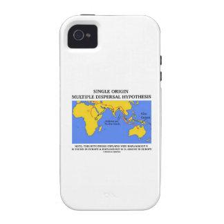 Hipótesis múltiple de la dispersión del solo iPhone 4 carcasas
