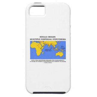 Hipótesis múltiple de la dispersión del solo iPhone 5 carcasas