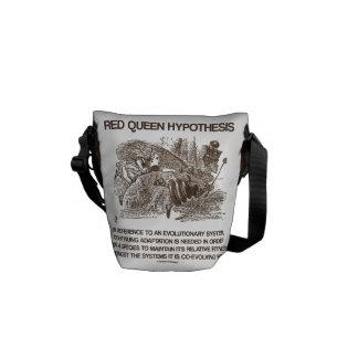 Hipótesis roja de la reina (aptitud relativa) bolsas de mensajería