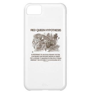 Hipótesis roja de la reina (reina roja de Alicia d Funda Para iPhone 5C