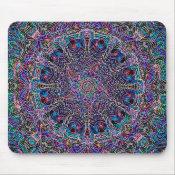 Hippie Art Psychadelic Print Mouse Pad (<em>$11.60</em>)