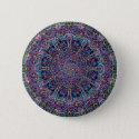 Hippie Art Psychadelic Print Pinback Button (<em>$3.20</em>)
