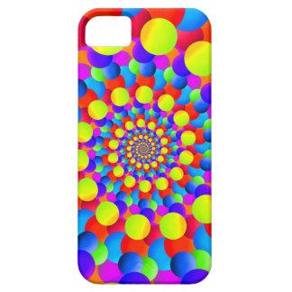 Hippie Art Rainbow Spiral Fractal iPhone 5/5S Case