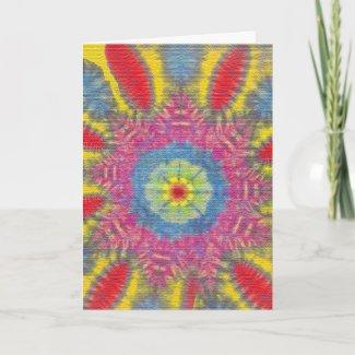 Hippie Birthday Card