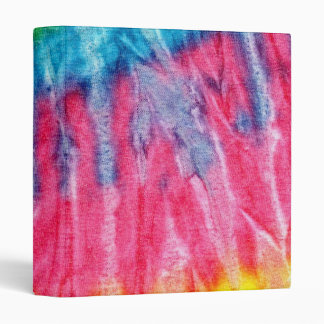 Hippie Boho Tie-Dye 3 Ring Binder