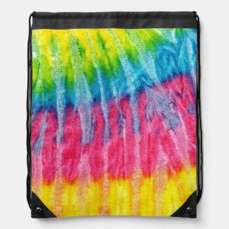 Hippie Boho Tie-Dye Drawstring Bag