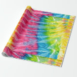 Hippie Boho Tie-Dye Gift Wrapping Paper