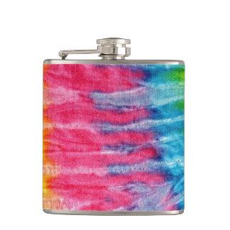 Hippie Boho Tie-Dye Hip Flask