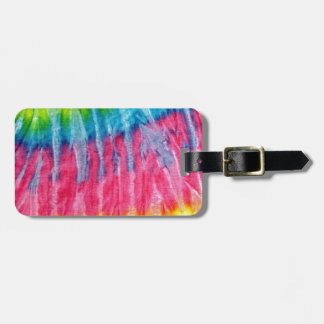 Hippie Boho Tie-Dye Tags For Luggage