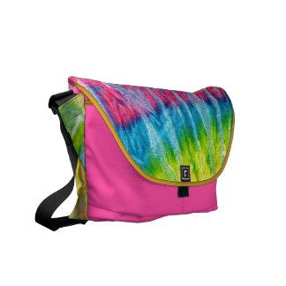 Hippie Boho Tie-Dye Messenger Bag
