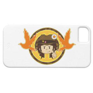 Hippie Boy & Doves iPhone SE/5/5s Case
