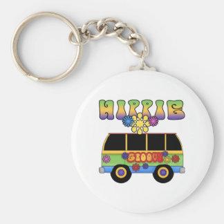 Hippie Bus Keychain