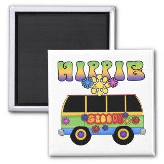 Hippie Bus Magnet