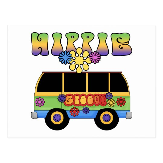 Hippie Bus Postcards