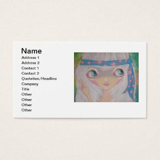 hippie business card