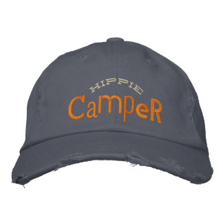 Hippie Camper Embroidery Hat