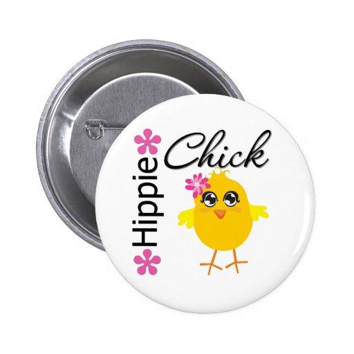 Hippie Chick 5 Pin