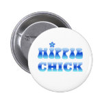 HIPPIE cHICK Button