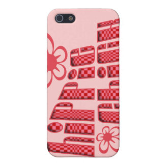 Hippie Chick iPhone Case Pink Cover For iPhone 5