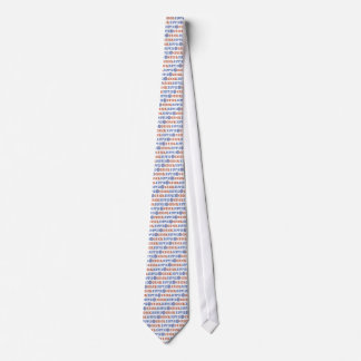 Hippie Chick with Peace Sign Neck Tie