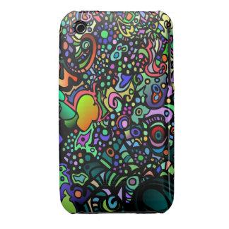 Hippie Colors Design iPhone 3 Case