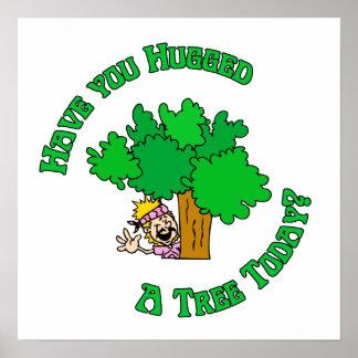 Hippie de Hugger del árbol Impresiones