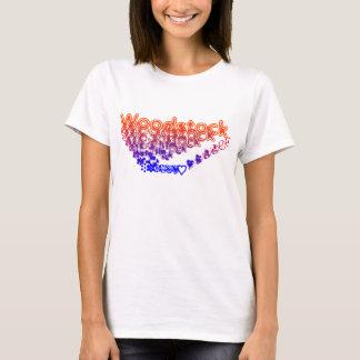Hippie de Woodstock Playera
