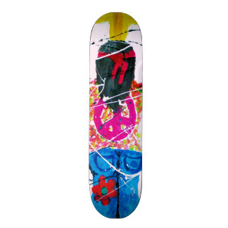 Hippie del signo de la paz skate boards