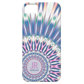 Hippie 'delica Funk Pink Blue Monogram iPhone 5 iPhone 5 Case