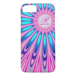 Hippie 'delica Pink Blue Tie Dye iPhone 7 Case