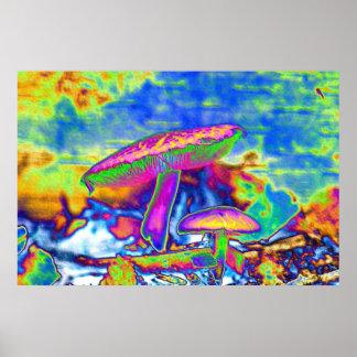 Hippie Dippie 'Shrooms Trippy Impresiones